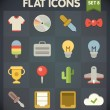 Universal Flat Icons for Web and Mobile Applications Set 8 — Vetorial Stock #29799185