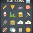 Universal Flat Icons for Web and Mobile Applications Set 5 — Vetorial Stock #29799371