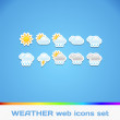 Weather Colorful Icons — Stock Vector #29806545