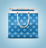 Vector shopping bag — Vettoriale Stock