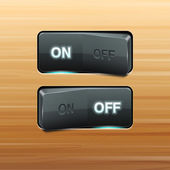 Realistic Vector Switch — Stock Vector