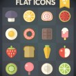 Universal Flat Icons for Web and Mobile Applications Set 19 — Stockvector  #34263091