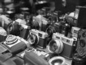 Retro cameras — Stock Photo