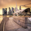 Stock Photo: Esplanade's Outdoor Theatre, Singapore