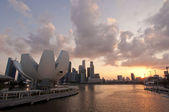 Kunst wissenschaftsmuseum, singapur — Stockfoto
