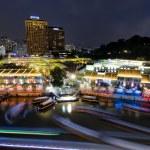 Clarke Quay, Singapore — Stock Photo
