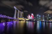 I Light Marina Bay — Stockfoto