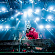 Slipknot concert — Stock Photo
