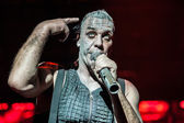 Rammstein concert — Stock Photo