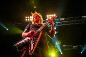 Mastodon concert — Stock Photo