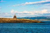Leuchtturm in norwegen — Stockfoto