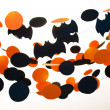 Halloween garlands — Stock Photo