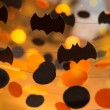 Stock Photo: Halloween garlands