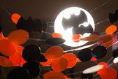 Halloween garlands — Stock Photo