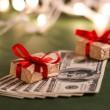 peníze dárek — Stock fotografie #34451357