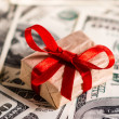 Money gift — Stock Photo