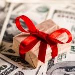 Money gift — Stock Photo #34451399