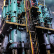 Stock Photo: Smelting plant