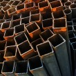 Stock Photo: Steel rods