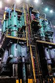 Smelting plant — Stock Photo