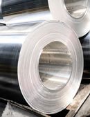 Aluminium rolls — Stock Photo