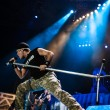 Iron Maiden concert — Stock Photo