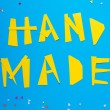 Stock Photo: Handmade