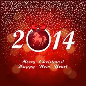 Christmas greetings — Vetor de Stock