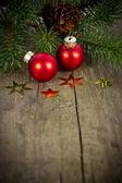 Weihnachtsdeko — 图库照片
