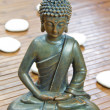 Sitting buddha — Stock Photo