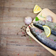 Fresh trout — Foto de stock #38197185