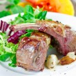 Grilled lamb ribs — Stock Photo #38221857