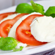 Tomato mozzarella — Stock Photo #38222521