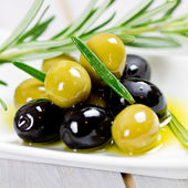 Mixed olives — Stock Photo
