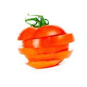 Sliced tomato — Stock Photo