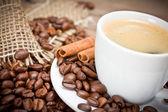 кофейные зерна — Стоковое фото