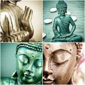 Buddha collection — Stock Photo