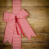 Red ribbon — 图库照片
