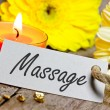 Foto de Stock  : Massage