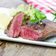 Stock Photo: Grilles steak
