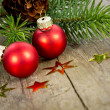Red xmas balls — Stock Photo #39528123