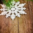 Stock Photo: Winter decoration