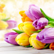 Bouquet of tulips — Stock Photo #39714365