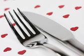 Love dish — Stock Photo