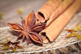 Xmas spices — Stock Photo