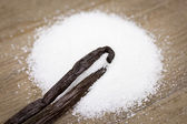 Vanilla sugar — Stock Photo