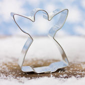 Cookie cutter angel — Stock Photo