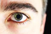 Occhio maschile — Foto Stock