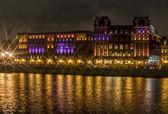 Night lights on Rotter October — Stock Photo