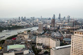 Great cityscape from the top of London Eye — Stock Photo